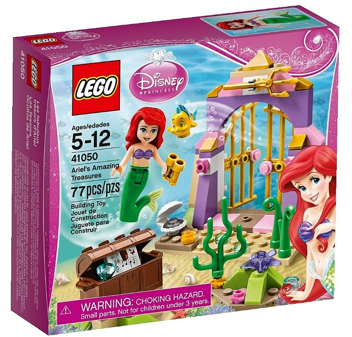 Lego Ariel's Amazing Treasures (41050) Box