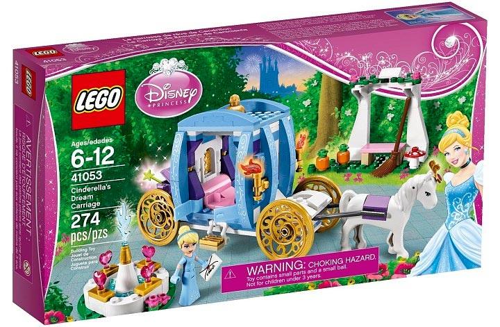 Lego Cinderella's Dream Carriage (41053) Box
