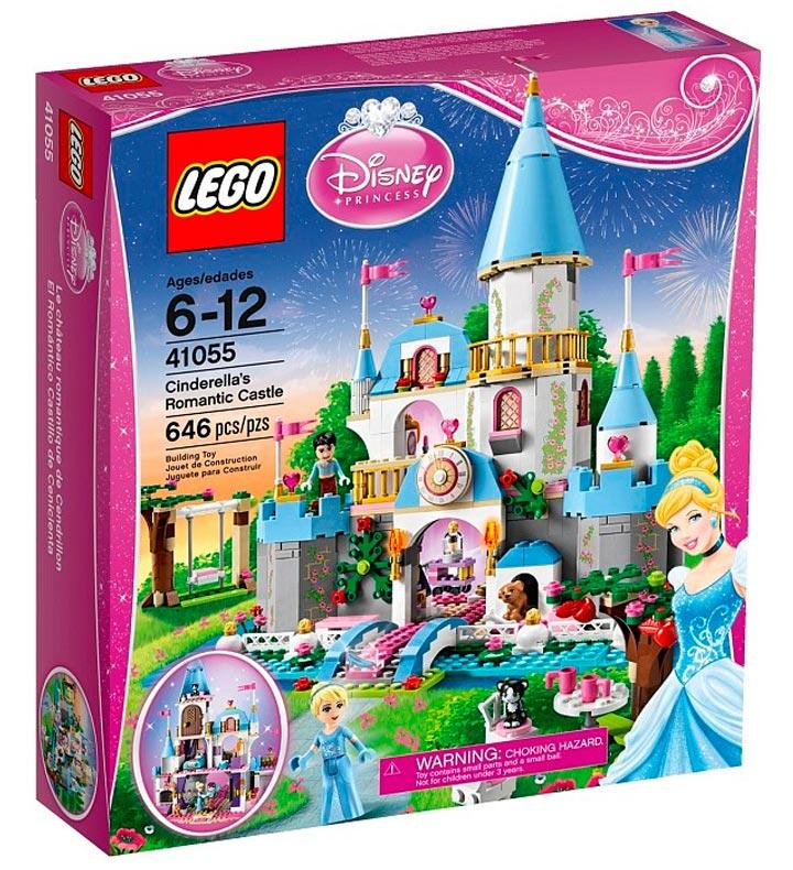 Lego Disney Princess Cinderella's Romantic Castle (41055) Box