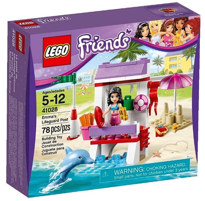 Lego Friends Emma's Lifeguard Post (41028)