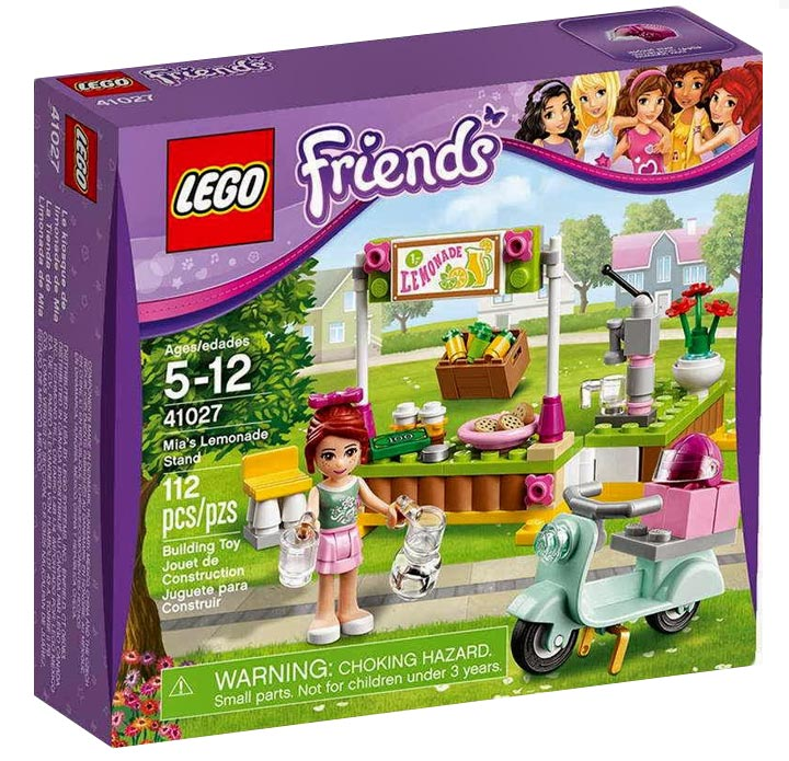 Lego Friends Mia's Lemonade Stand (41027)
