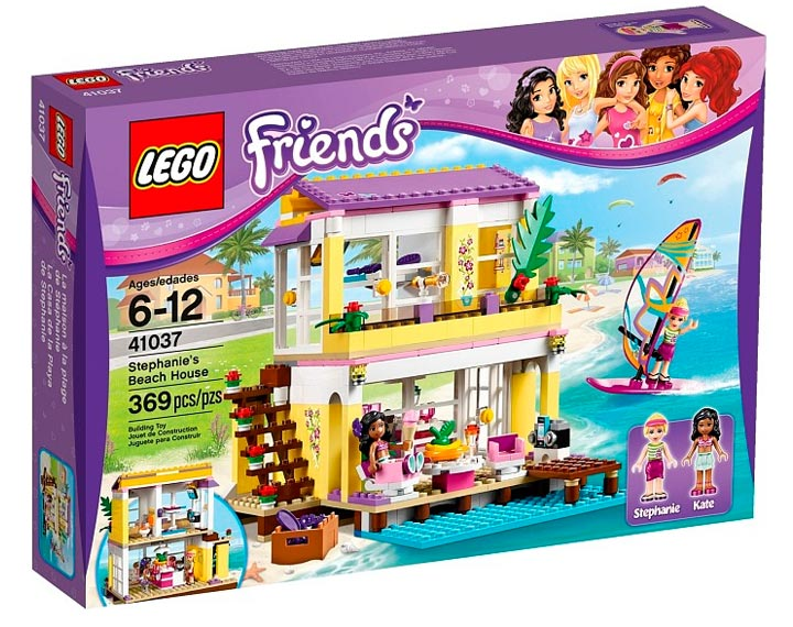 Lego Friends Stephanie's Beach House (41037)
