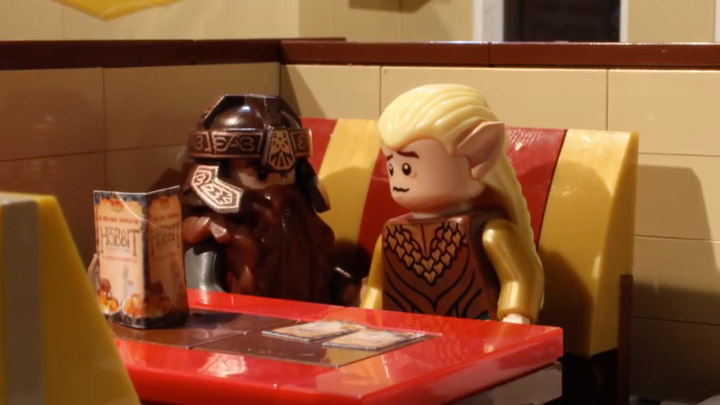 Lego Legolas Gets Friendzoned by the Brotherhood Workshop