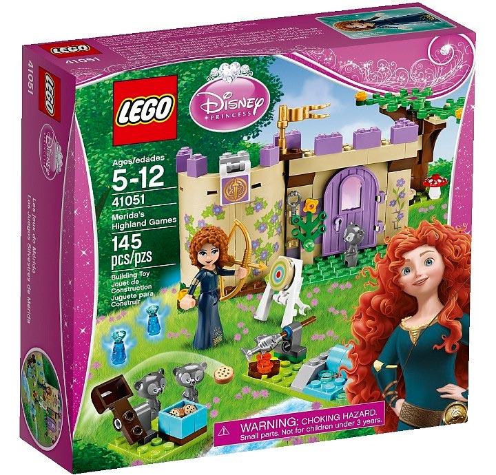 Merida's Highland Games (41051) Lego Box