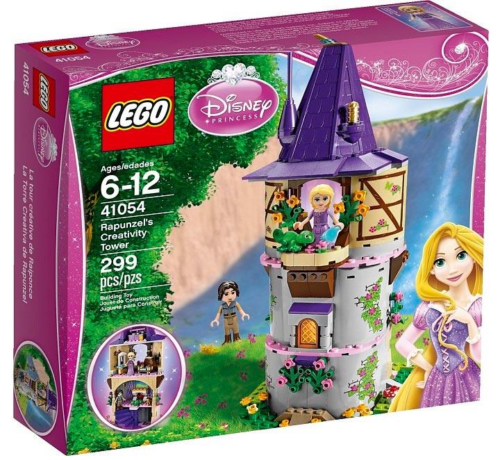 Lego Rapunzel's Creativity Tower (41054) Box