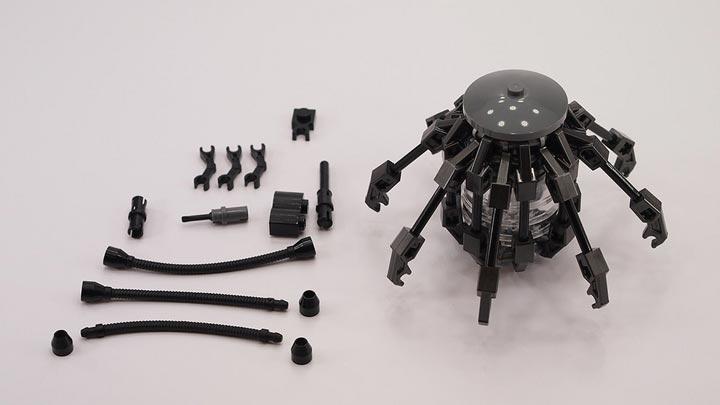 MrAttacki's Lego Iron Man Arc Reactor Instructions 2