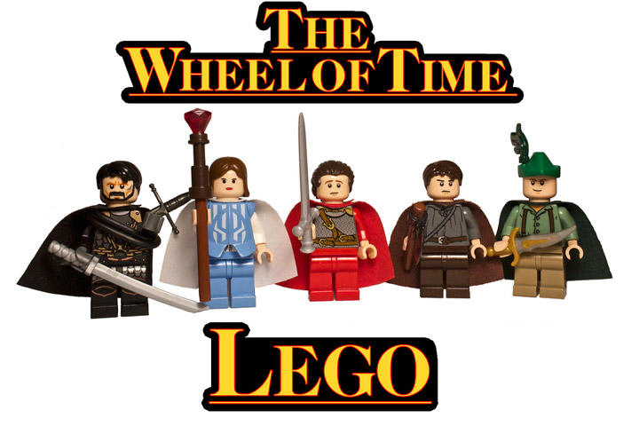 SirGlub's The Wheel Of Time Lego Minifigures