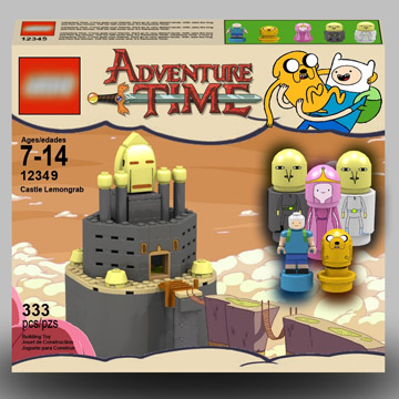 jazlecraz's Lego Cuusoo, The Adventure Time Project Micro Lumpy Castle Lemongrab
