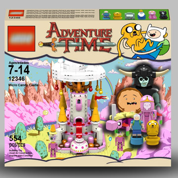 jazlecraz's Lego Cuusoo, The Adventure Time Project Micro Candy Castle