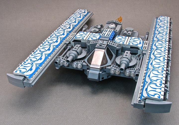 BrickJunky's Alphabet Fighter H-Wing Fancy May