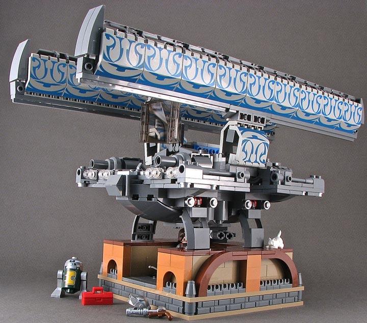 BrickJunky's Alphabet Fighter H-Wing Fancy May Side