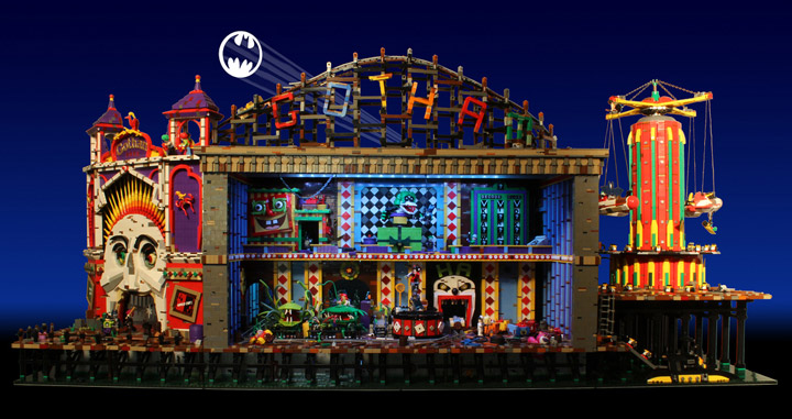 Brickbaron's Lego Batman and Robin, Joker's Funhouse