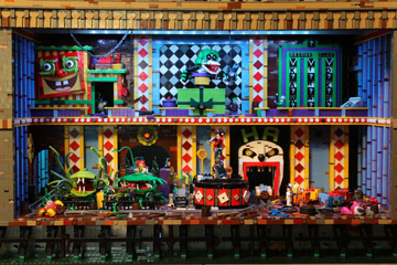 Brickbaron's Lego Batman and Robin, Joker's Funhouse, Games