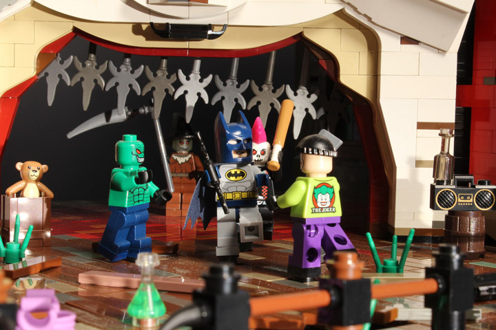 Brickbaron's Lego Batman and Robin. Joker's Funhouse, Goons