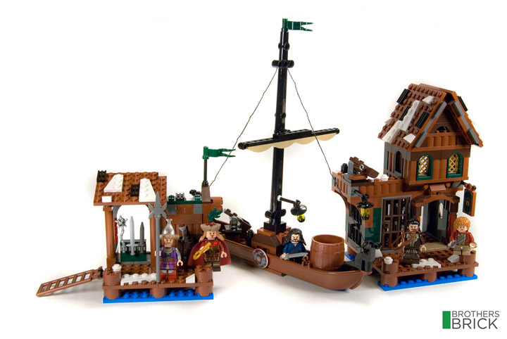 Brothers Brick's Lego The Hobbit Lake Town Chase 79013 Review