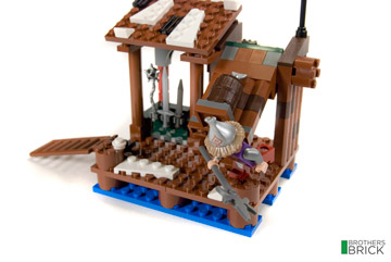 Brothers Brick's Lego The Hobbit Lake-town Chase 79013 Review 1