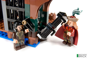Brothers Brick's Lego The Hobbit Lake Town Chase 79013 Review 2