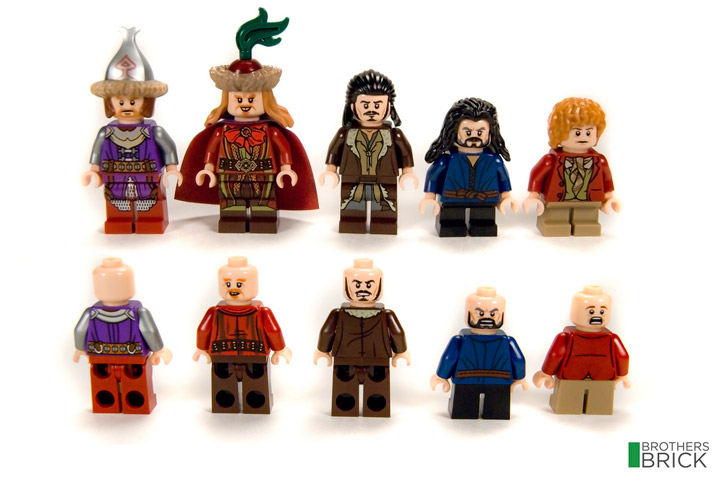 Brothers Brick's Lego The Hobbit Lake-town Chase 79013 Review Minifigures