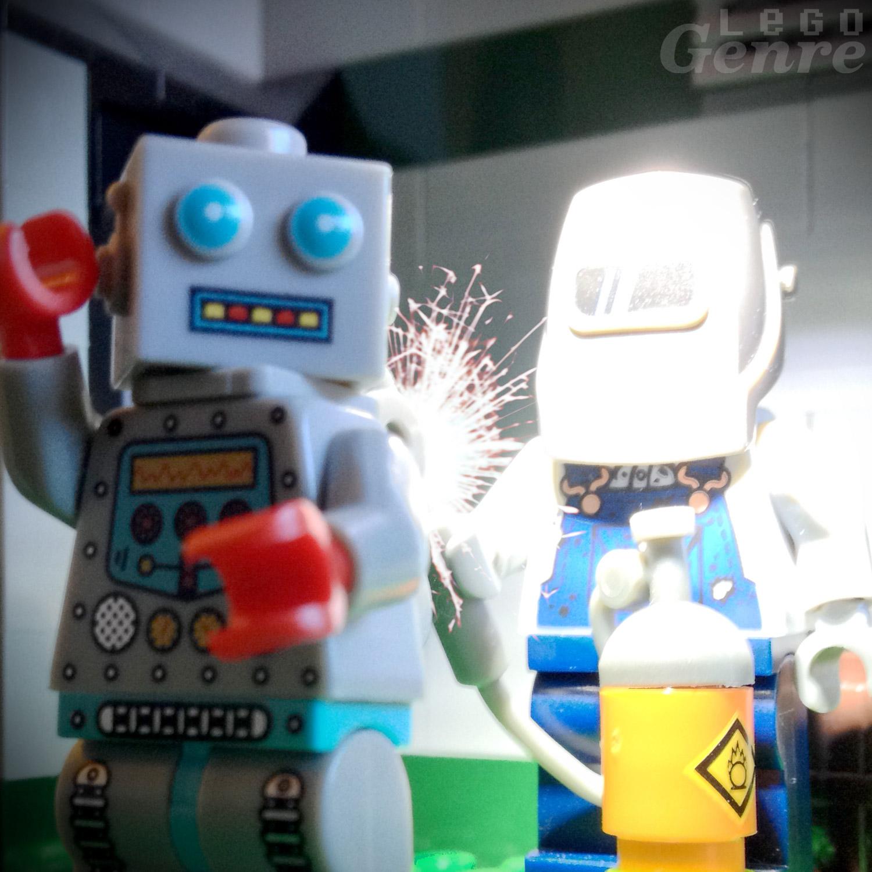 LegoGenre 00337: Robot Repair