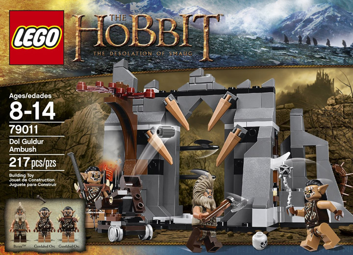 Lego The Hobbit Dol Guldur Ambush 79011 Box