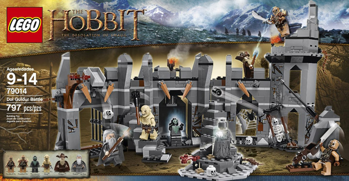 Lego Dol Guldur Battle 79014 Box