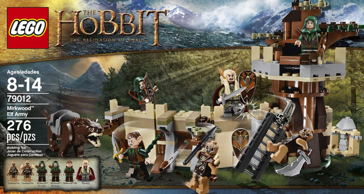 Lego Mirkwood Elf Army 79012 Box