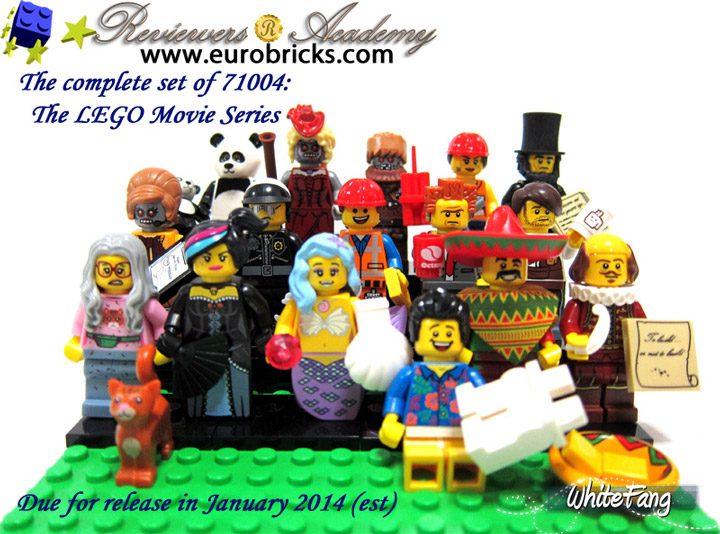 WhiteFang's Lego Minifigures, The Lego Movie Series