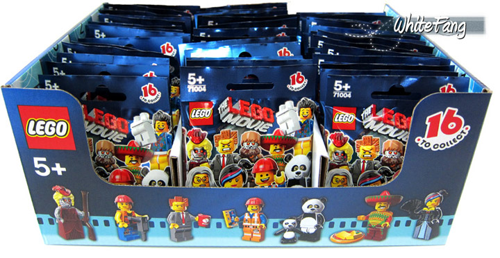 WhiteFang's Lego Minifigures, The Lego Movie Series Box