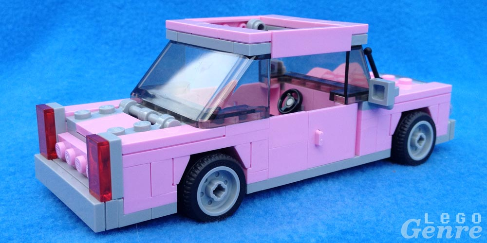 LegoGenre: Simpsons Car 2