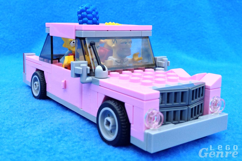 LegoGenre: Simpsons Family Car