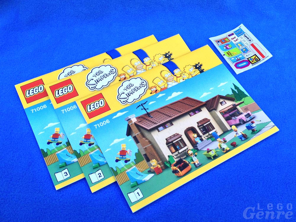 LegoGenre: The Simpsons House Instructions (71006)