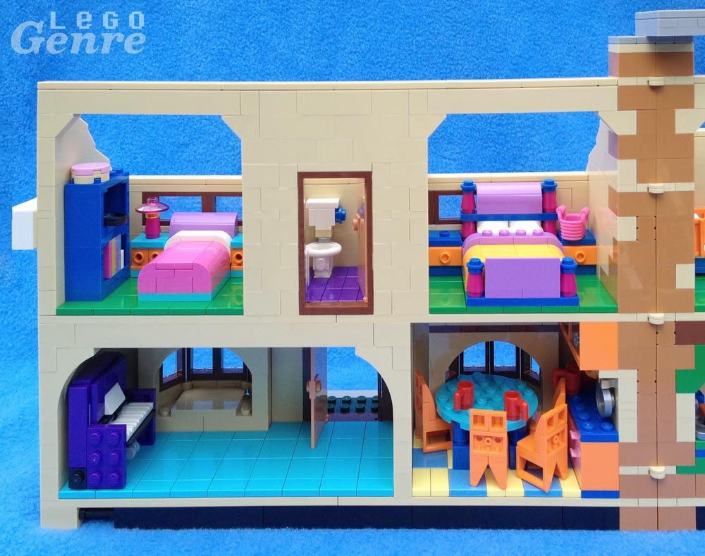 LegoGenre: The Simpsons House Left Side (71006)