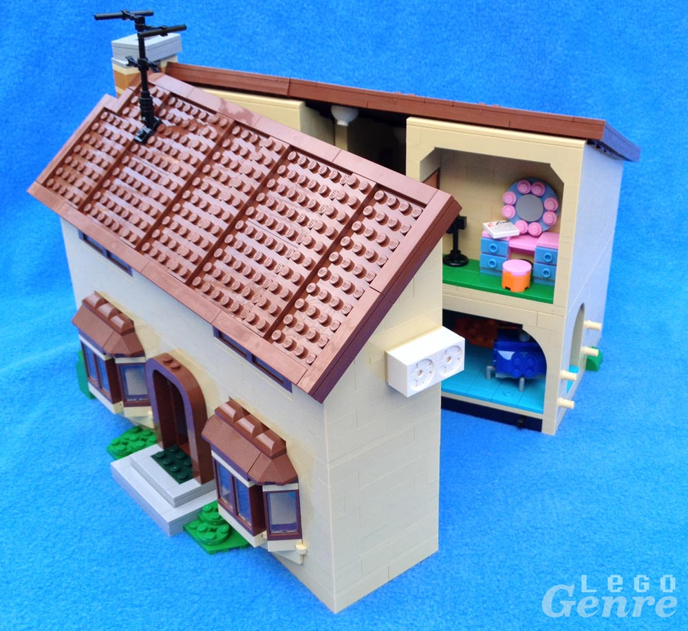 LegoGenre: The Simpsons House Opened (71006)