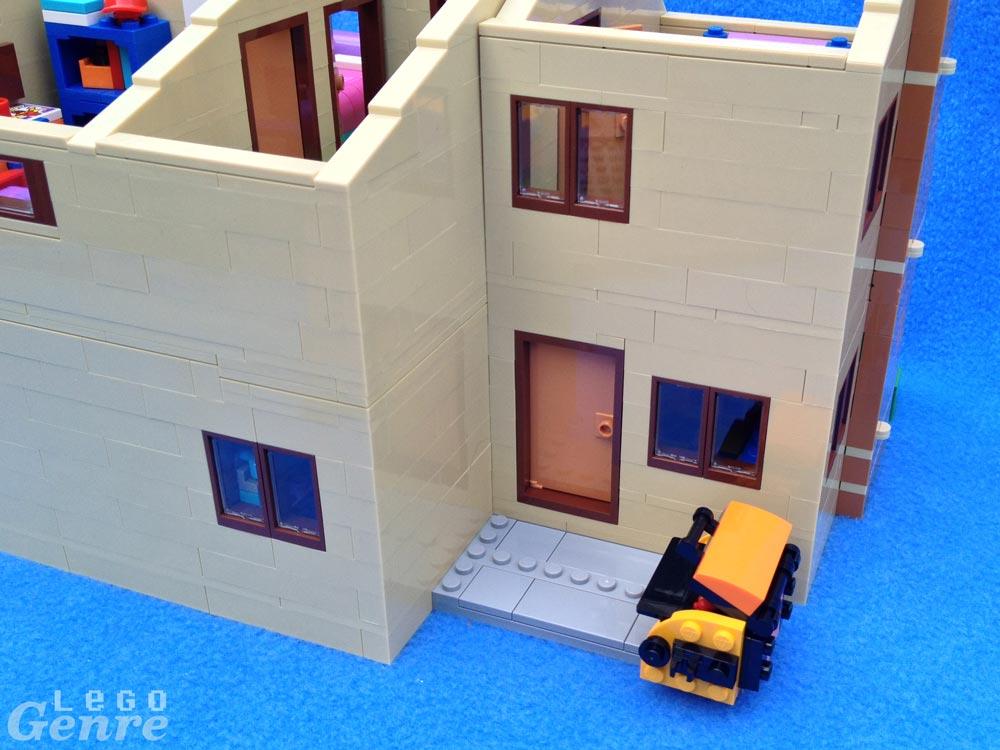 LegoGenre: The Simpsons Rear House