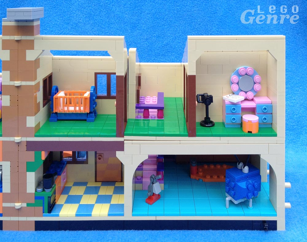 LegoGenre: The Simpsons House Right Side (71006)