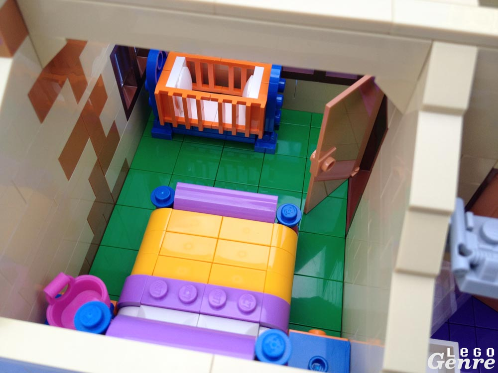 LegoGenre: The Simpsons House Master Bedroom