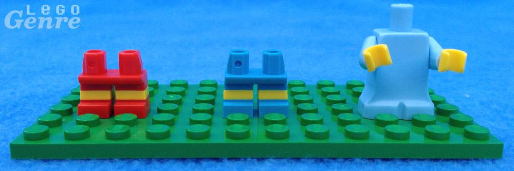 LegoGenre: Simpsons Minifigure Legs