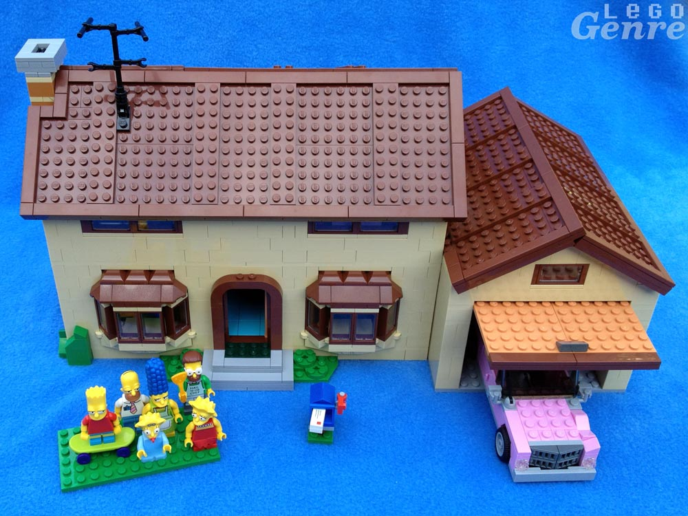 Lego Simpsons House Floor Plan