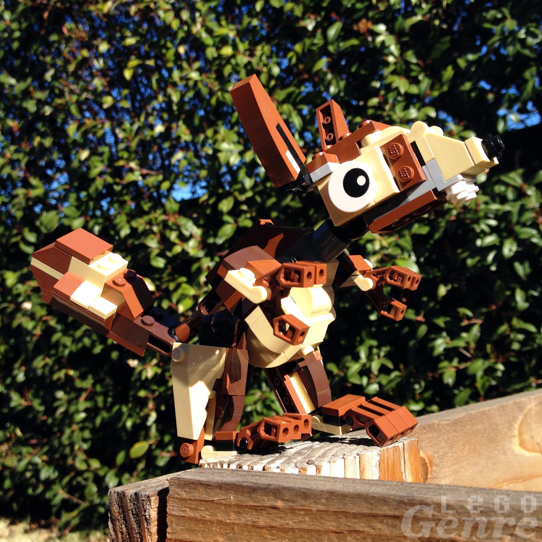 LegoGenre 00346: Squirrel