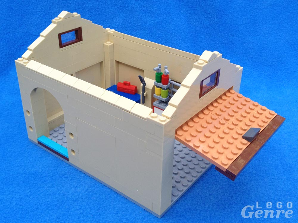 LegoGenre: The Simpsons House Garage