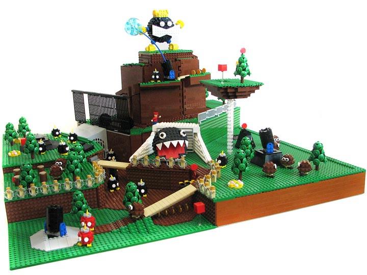 PepaQuin's Super Mario 64 Lego Bob-omb Battlefield