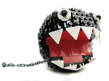 PepaQuin's Super Mario 64 Lego Bob-ombBattlefield Chain Chomp