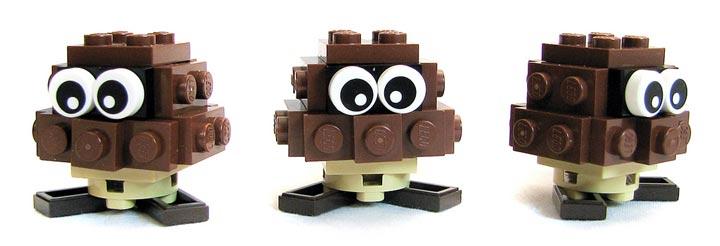 PepaQuin's Super Mario 64 Lego Bob-ombBattlefield Chain Goombas