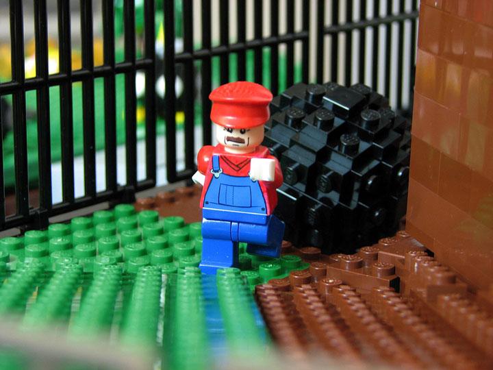 PepaQuin's Lego Super Mario 64 Bob-omb Battlefield Mario