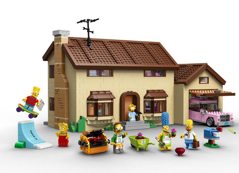 Simpsons Lego House 71006
