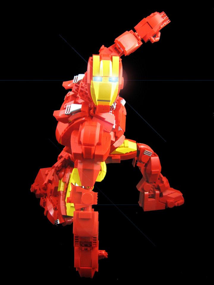 mmccooey's Iron Man Mark VII Armor Lego Figure Big