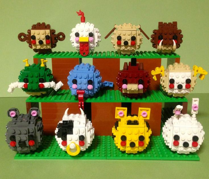 ryouta22's Lego Happy Lunar New Year
