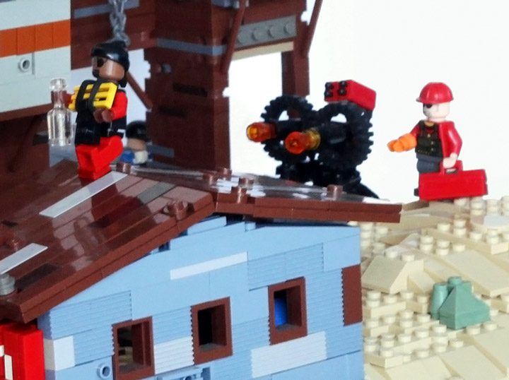CaptainInfinity's Lego Team Fortress 2 Upward Red Team