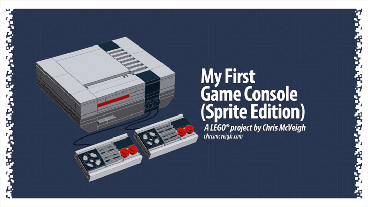 Chris McVeigh's My First Game Console, A Lego NES + Instructions