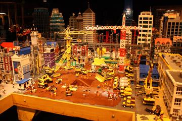 Finn's Basement, The Lego Movie, Construction